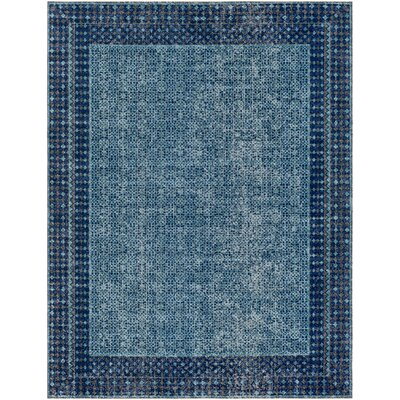 Fredonia Oriental Blue/Gray Area Rug Rug Size: Rectangle 710 x 103