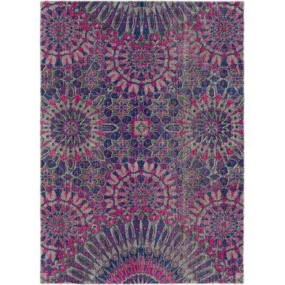 Randhir Purple/Pink Area Rug