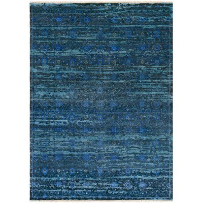 Halima Slate/Charcoal Area Rug Rug Size: 8 x 11