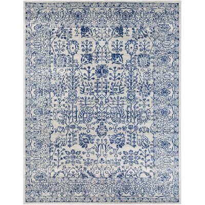 Hillsby Hand-Woven Blue Area Rug Rug Size: 710 x 103