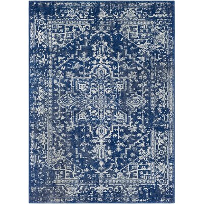 Hillsby Geometric Blue Area Rug Rug Size: Rectangle 2 x 3