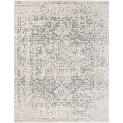 Hillsby Gray/Beige Area Rug Rug Size: Rectangle 710 x 103