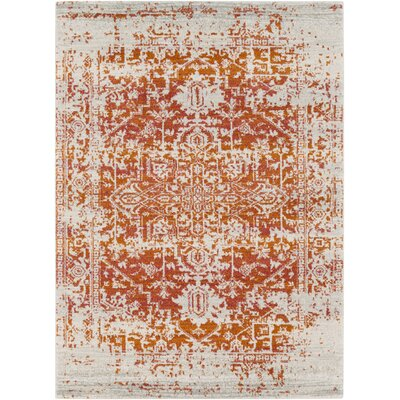 Hillsby Orange/Beige Area Rug Rug Size: 311 x 57