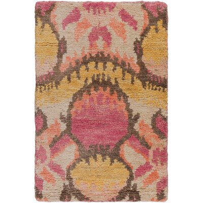 Elvera Salmon Area Rug Rug Size: Rectangle 2 x 3