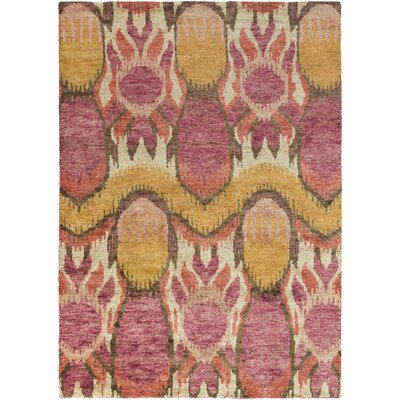 Elvera Salmon Area Rug Rug Size: Rectangle 8 x 11
