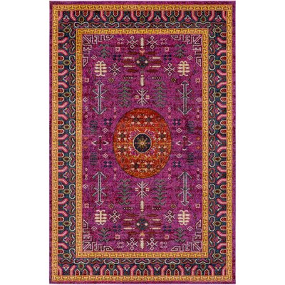 Nichole Tibetan Pink Area Rug Rug Size: Rectangle 710 x 103
