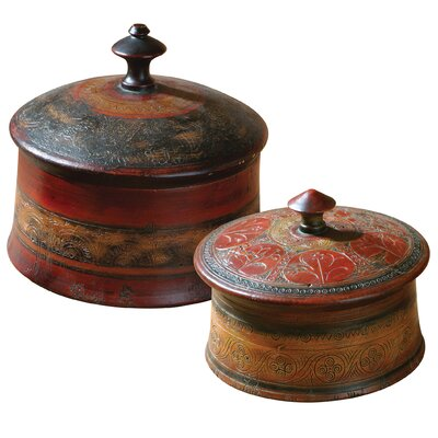 Round Decorative Boxes