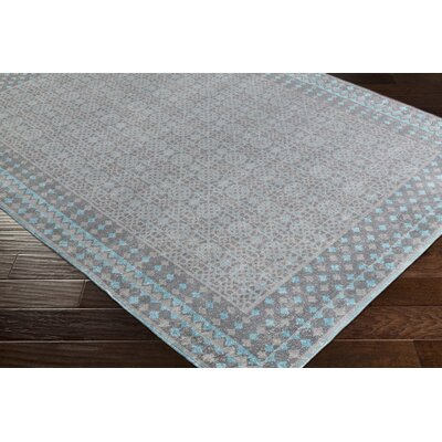 Randhir Blue/Gray Area Rug