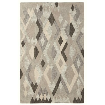 Kindred Cream/Brown Area Rug Rug Size: 5 x 8