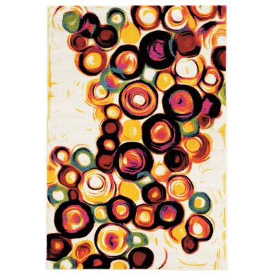 Amber White Area Rug Rug Size: Rectangle 8 x 103