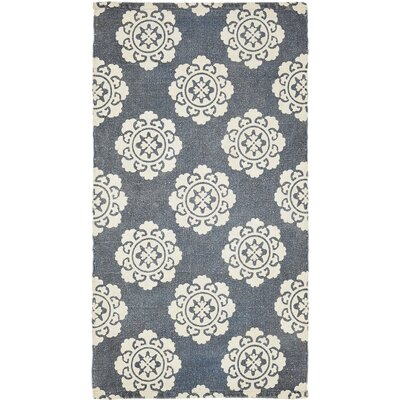 Ross Blue Area Rug Rug Size: 23 x 4