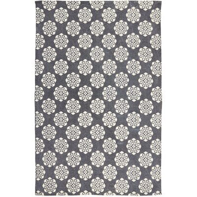 Ross Blue Area Rug Rug Size: 5 x 8