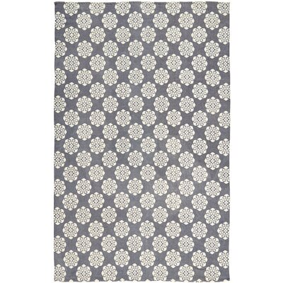 Ross Blue Area Rug Rug Size: 6 x 9