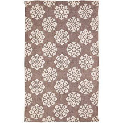 Ross Brown/Beige Area Rug Rug Size: 3 x 5