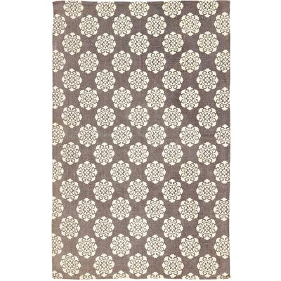 Ross Brown/Beige Area Rug Rug Size: 5 x 8
