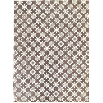 Ross Brown/Beige Area Rug Rug Size: 8 x 11