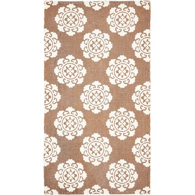 Ross Orange Area Rug Rug Size: 23 x 4