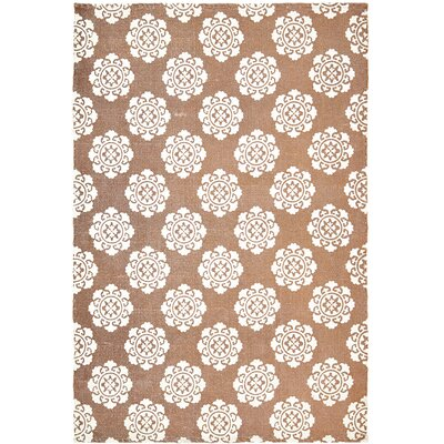 Ross Orange Area Rug Rug Size: 4 x 6