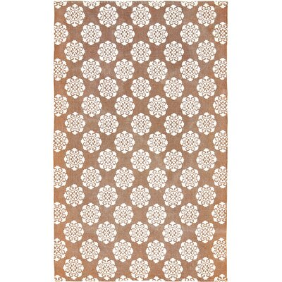 Ross Orange Area Rug Rug Size: 5 x 8