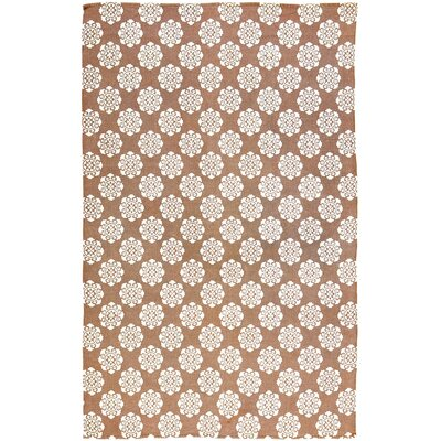 Ross Orange Area Rug Rug Size: 6 x 9