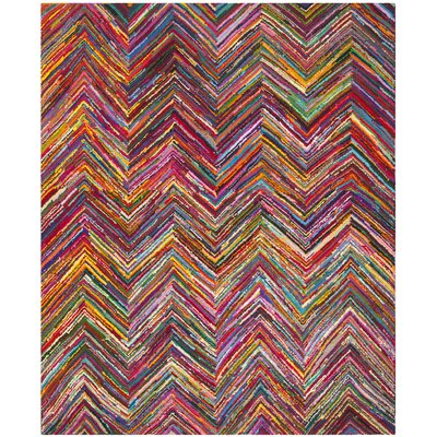 Barnes Hand Tufted Multi-Colored Area Rug Rug Size: 11 x 15