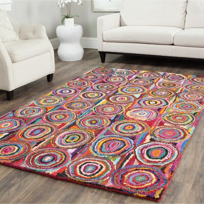 Sergio Circle Area Rug Rug Size: Square 4