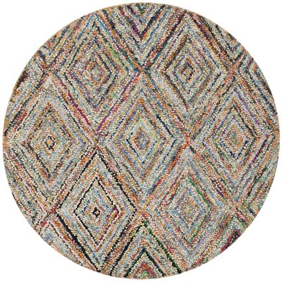 Sergio Area Rug Rug Size: Round 8
