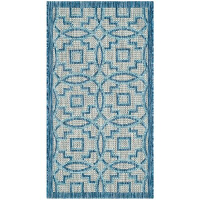 Amedee Indoor/Outdoor Area Rug Rug Size: Round 67