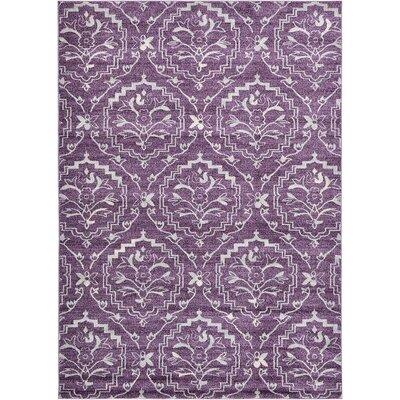 Ezequiel Purple Area Rug Rug Size: 7 x 10