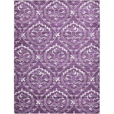 Ezequiel Purple Area Rug Rug Size: 9 x 12