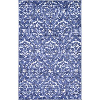 Ezequiel Blue Area Rug Rug Size: 5 x 8