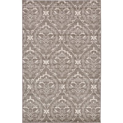 Ezequiel Light Brown Area Rug Rug Size: 7 x 10