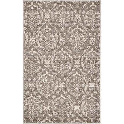 Ezequiel Light Brown Area Rug Rug Size: 5 x 8