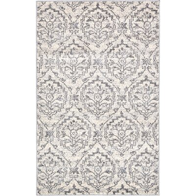 Ezequiel Ivory Area Rug Rug Size: Rectangle 33 x 53