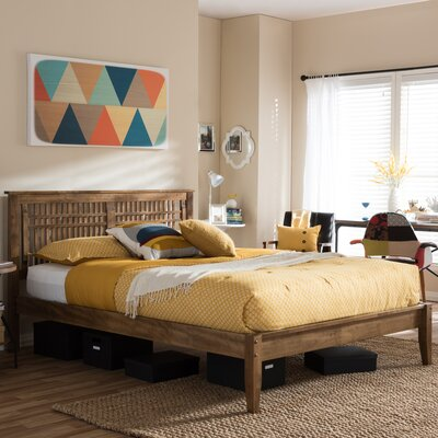 Devery Platform Bed Size: Queen