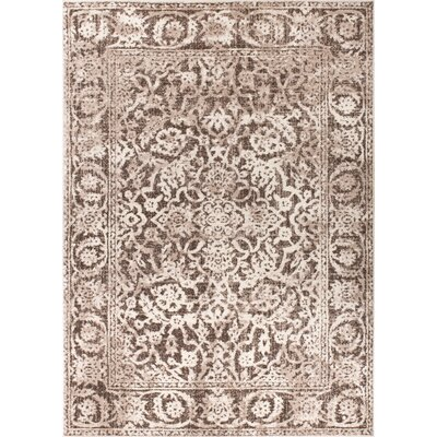 Allentow Traditional Natural Area Rug Rug Size: 93 x 126