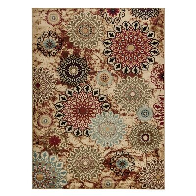 Weaver Ivory/Brown Area Rug