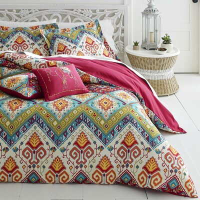 Novak Duvet Cover Set Size: King