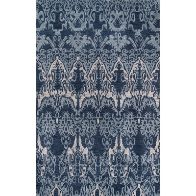 Allen Hand-Tufted Denim Area Rug Rug Size: Rectangle 36 x 56