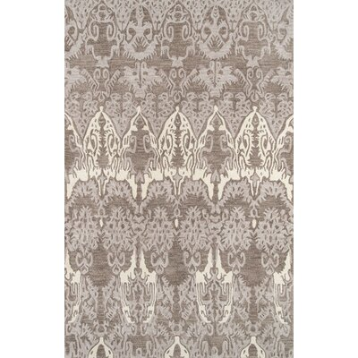Allen Hand-Tufted Gray Area Rug Rug Size: 2 x 3