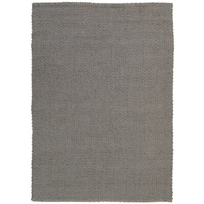 Alliance Handmade Gray Area Rug Rug Size: 53 x 74