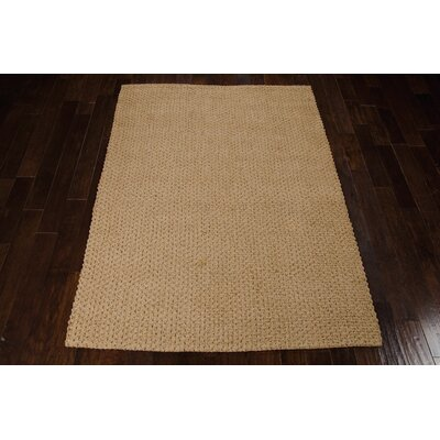 Alliance Handmade Natural Area Rug Rug Size: Rectangle 53 x 74