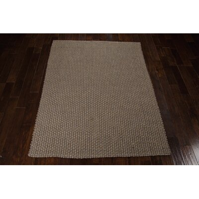 Alliance Handmade Tweed Area Rug Rug Size: Rectangle 53 x 74