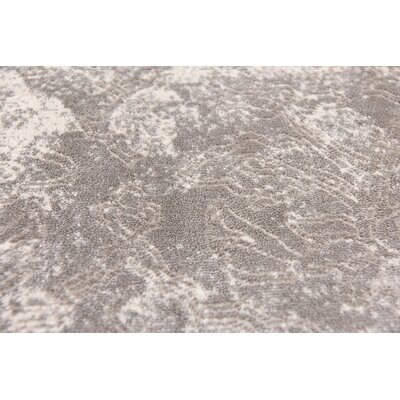 Jacobson Gray Area Rug Rug Size: Rectangle 7 x 10