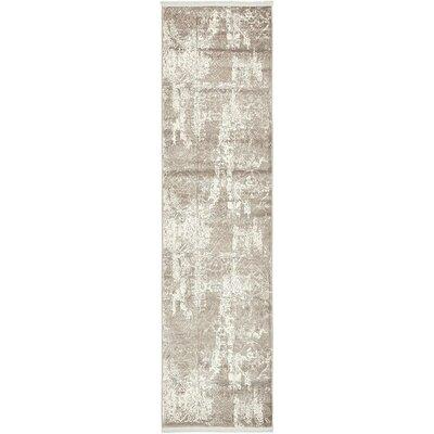 Wilton Gray Area Rug Rug Size: Runner 27 x 10