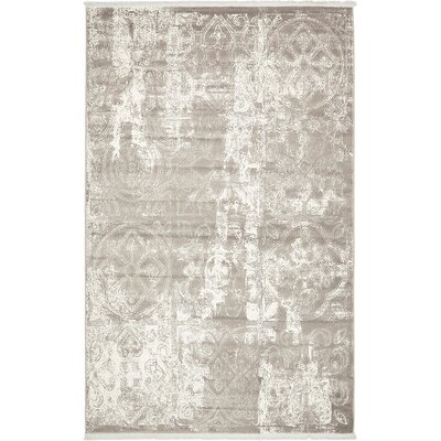 Wilton Gray Area Rug Rug Size: Runner 22 x 6