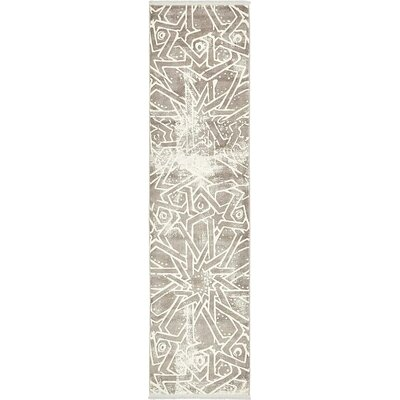Wilton Gray Area Rug Rug Size: Runner 27 x 10