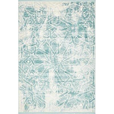 Wilton Blue Area Rug Rug Size: 7 x 10