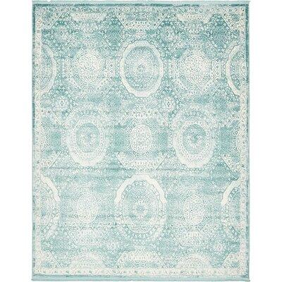 Wilton Blue Area Rug Rug Size: 8 x 10