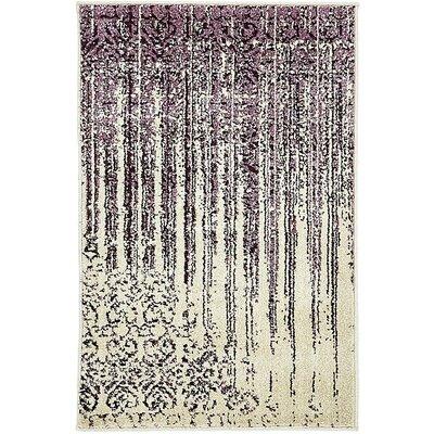 Raphael Purple Area Rug Rug Size: 22 x 3